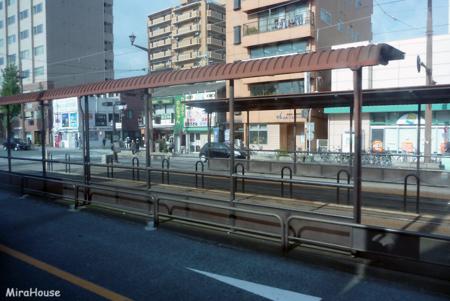 水前寺駅通り電停 2009-10-26 14:22:31