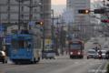 [電車][路面電車][熊本市電]1205&8501 2009-01-20 07:58:11