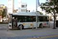 [東京][バス]ちぃばす@芝浦運河通り 2010-06-02 16:37:08
