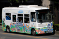 [熊本][路線バス]しろめぐりん 2010-08-01 15:40:35