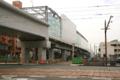[電車][路面電車][熊本市電]新水前寺駅 2010-10-12 09:48:25
