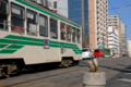 [電車][路面電車][熊本市電]洗馬橋のリスと1351 2011-03-25 16:16:23