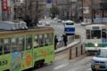 [電車][路面電車][熊本市電]1204・1354 2011-03-23 13:53:38
