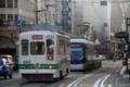 [電車][路面電車][熊本市電]1093&0801 2011-03-25 16:53:18