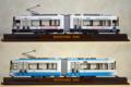 [電車][熊本市電][模型]9701AB&9704AB模型