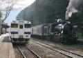 [JR][熊本][鉄道]SL人吉@肥薩線白石駅 2011-03-24 15:27:08