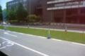 [熊本][路面電車][風景]市役所前付近 2011-05-07 11:11:56