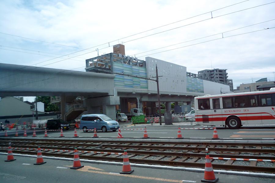 新水前寺駅 2011-05-07 11:19:49