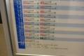 [JR][新幹線][駅]熊本駅時刻表 2011-05-12 20:40:48