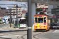 [電車][路面電車][熊本市電]1205&9703AB 2012-09-04 13:29:23