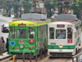 [電車][路面電車][熊本市電]1092・1095 2012-09-03 12:27:34