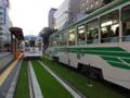 [電車][路面電車][熊本市電]1203&1210 2012-09-03 17:56:10