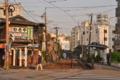 [熊本市電][停留所][路面電車]新町停留所 2014-05-31 17:59:35