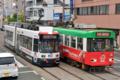 [熊本市電][電車][路面電車]8502・9704 2014-06-02 10:28:47
