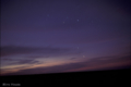 [ペルー] 皆既日食の朝,モケグア郊外にて