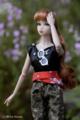 [doll][FR Nippon Misaki]サマーブルースにアーミーキサラの服