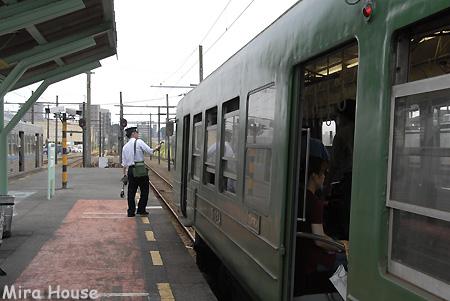 5000系(青ガエル)@北熊本駅