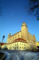 """[スロバキア][ブラチスラヴァ][城]""""ひっくり返したテーブル""""と呼ばれているブラチスラヴァ城"""