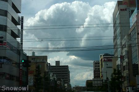 水道町交差点にて 2009-06-20 15:44:00