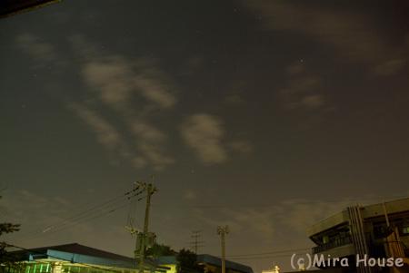 H-IIBロケット打ち上げ@熊本市 2009-09-09 02:06