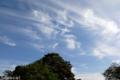 [空][雲]2009-10-10 08:13:32 熊本の家からの最後の空