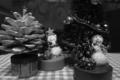 [クリスマス]手作りの松ぼっくりツリー