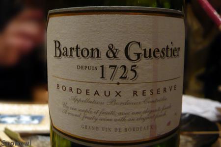ボルドーワイン 2009-12-19 19:42:43