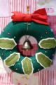 [クリスマス]手作りのリース