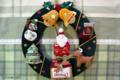 [クリスマス]手作りリース