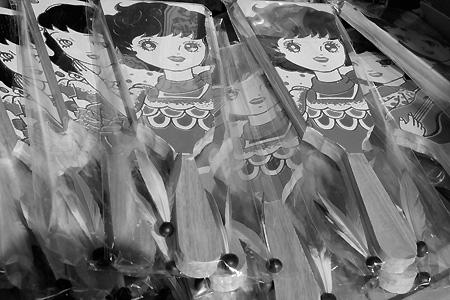 浅草寺 羽子板市 2009