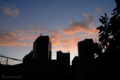[空][夕焼け]2009-12-31 16:35:02 東京都文京区