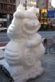 [電車][路面電車][都電荒川線]神田雪だるまフェア 招き虎 富士見バンビーズ