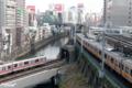 [東京][電車]2010-01-29 14:36:57 中央線と丸ノ内線