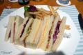 2010-02-20 インターコンチネンタル東京ベイのサンドイッチ