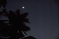 [空][月]2010-05-17 19:22:26 月と金星