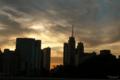 [東京][街角][空][雲][夕焼け]聖橋にて 2010-08-0718:22:28