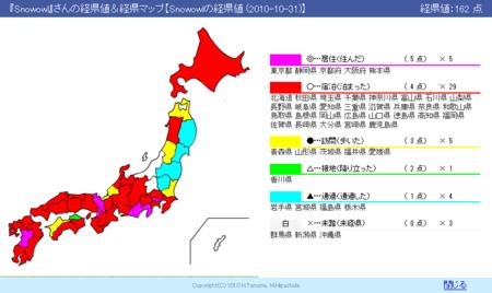 経県値 2010-10-31