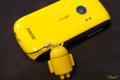 [ストラップ]黄色いIDEOSとドロイド君 2011-01-16 09:07:04
