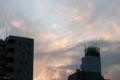 [空][雲][夕焼け]2011-02-02 16:55:58