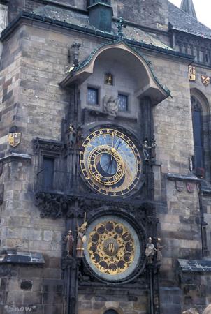 プラハ天文時計 2003-02-15