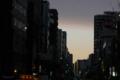 [東京][街角]千代田区妻恋坂交差点 2011-03-03 17:27:21