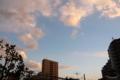 [空][雲][夕焼け]2011-03-09 17:30:37