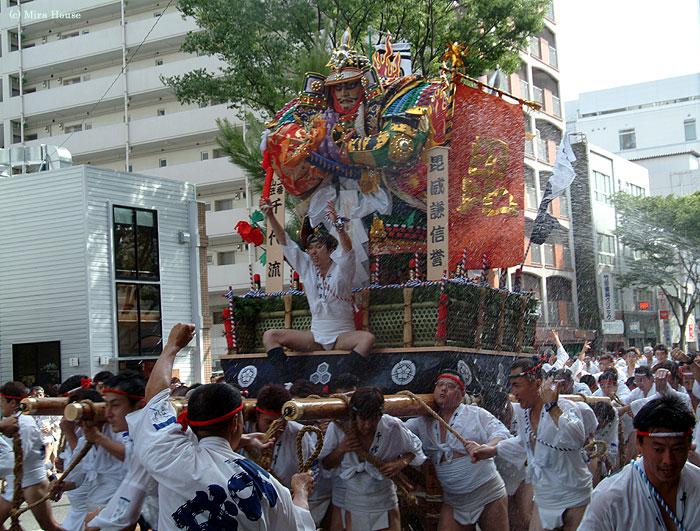祇園山笠 2004-07-12