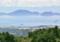 島原半島から見た天草と九州山地 2011-07-12 11:08:25