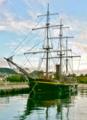 [長崎]長崎港停泊中の帆船 2011-07-13 06:21:58