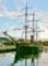 長崎港停泊中の帆船 2011-07-13 06:21:58