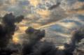 [空][雲][夕焼け]三郷町 2011-09-04 17:42:26