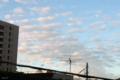 [空][雲]台風一過の朝焼け 2011-09-22 05:54:08