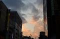 [東京][街角][秋葉原]神田明神通りの夕焼け 2011-11-20 16:15:41