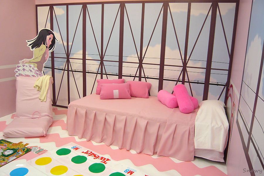アニメイト化物語イベント 撫子の部屋 2012-03-31